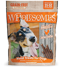 SPORTMiX® Wholesomes<sup>™</sup> Heidi's Jerky Sticks