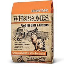 SPORTMiX® Wholesomes<sup>™</sup> Chicken Meal & Rice Formula