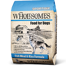 SPORTMiX® Wholesomes<sup>&#8482;</sup> Fish Meal &#038; Rice Formula